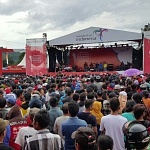 Konser Crossborder di Timor Tengah Utara Benar-benar Meledak