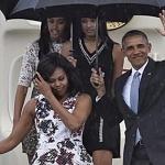 Barack Obama Tiba di Kampung Halaman