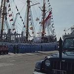 Menko Luhut Pandjaitan Lepas KRI Dewaruci & KRI Bima Suci Ekspedisi Sail Sabang 2017