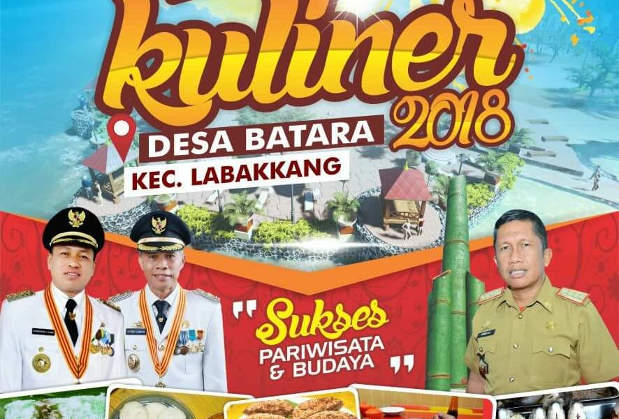 FESTIVAL KULINER KABUPATEN PANGKEP 2018