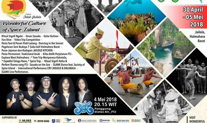 Ke Festival Teluk Jailolo 2018 Jangan Lupa Kunjungi 5 Pantai Ini El John News